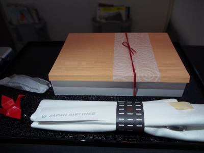 JAL(セントレア→バンコク)ビジネス(17/1)