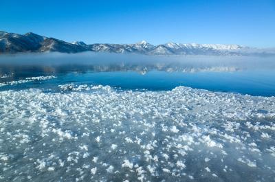 2017屈斜路湖クリスタル結氷と絶景の冬山登山(藻琴山)