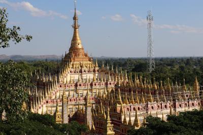 ミャンマー再訪の旅(9)~モンユワ1 タウンボッデー寺院~