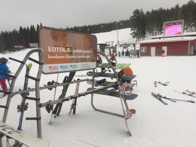 やってきましたフィンランドに 3日目