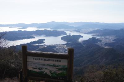 彦岳と塩湯の海鮮丼