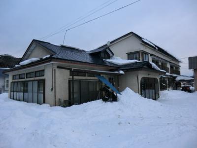 みちのく帰省&雪見旅・その4.まるで実家に帰ったみたい‥民宿.赤坂田。