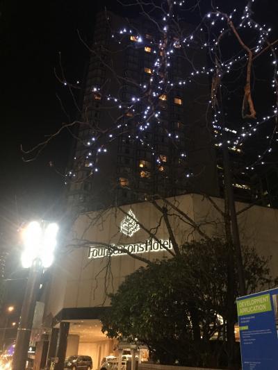 カナダでスノボ、スキボ☆Four Seasons Hotel Vancouver