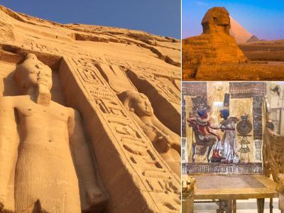エジプト定番コース チャーター便&クルーズ船 ツアー  完全ガイド  お役立情報2 エジプト航空とお酒編