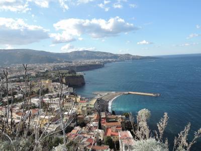 太陽がいっぱい!南イタリア・シチリア島の旅11 (8日目 アマルフィ海岸ドライブ)