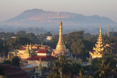 ミャンマー再訪の旅(11)~モンユワ3 シュエズィーゴン・パヤー~