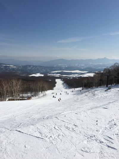 今シーズン、初スキー*パルコール嬬恋