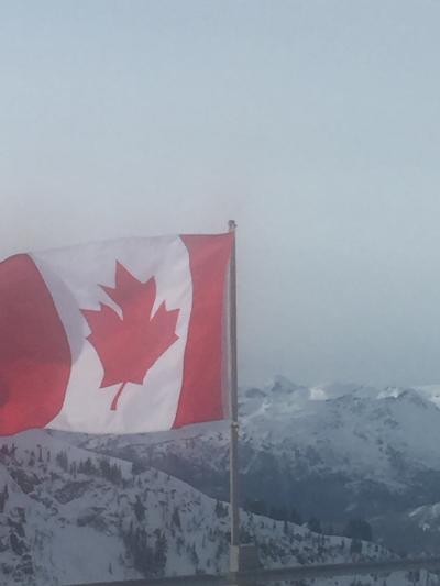 カナダでスノボ、スキボ☆ウィスラーへ☆