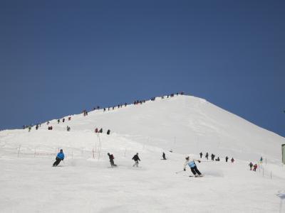 January 2017 ひさびさのニセコアンヌプリでスキー