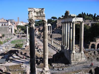 古代ローマ時代の建築群巡り(2007年)修正版