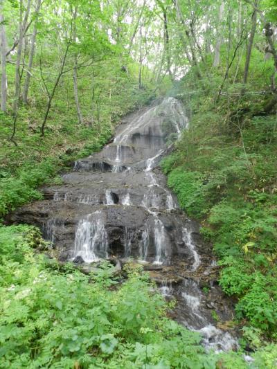 足寄町の二つの滝『白糸の滝』『トブシの滝』◆2016初夏の爽やか北海道/湖沼と滝をめぐる旅≪その6≫