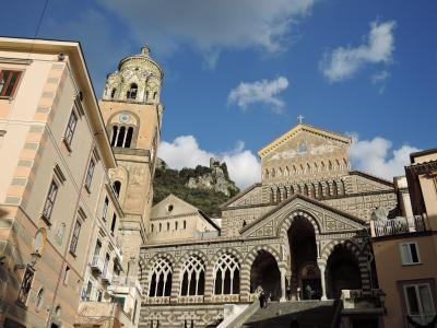 太陽がいっぱい!南イタリア・シチリア島の旅12 (8日目 アマルフィ)