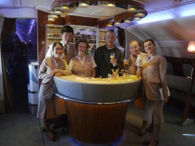 エミレーツA380スカイクルージングへのいざない 聖なる都市ローマとバチカンを巡る1泊4日の旅 その6(最終巻) ドバイの乗り継ぎと検疫と出入国のスタンプで戸惑いながらも?ソウル仁川経由で帰国の途へ エミレーツA380ビジネスクラスとアシアナ航空エコノミークラス搭乗記
