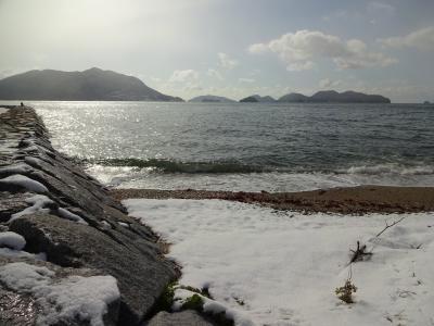 瀬戸内海ぷち旅行 ~雪の瀬戸内海