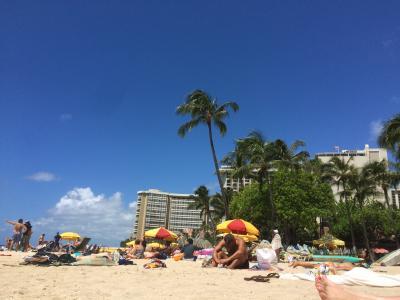 残念!今年はキャンセル!!憧れのハワイ(涙のご英断。。。)