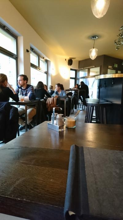 2016年12月のドイツ旅行(17)~4回目のベルリンのレストラン、カフェで食べたもの~