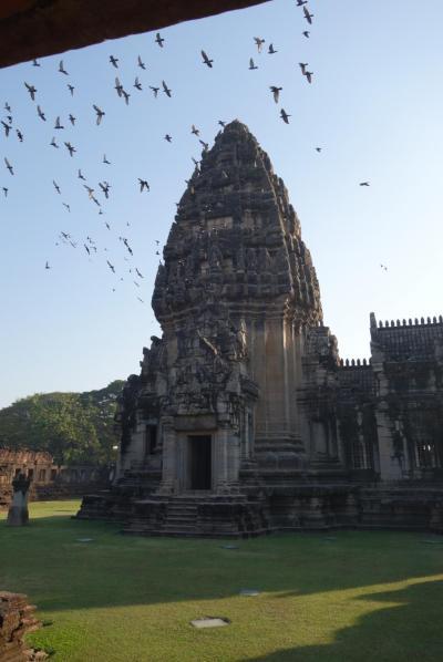 20170206-1 ピマーイ 朝一番のピマーイ歴史公園