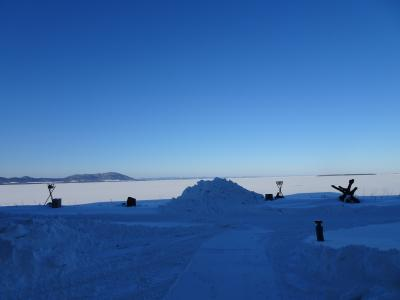 サロマ湖鶴雅リゾートで温泉とホタテと牡蠣の冬