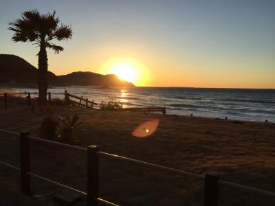 糸島の美しい夕日を眺めに、糸島グルメの旅