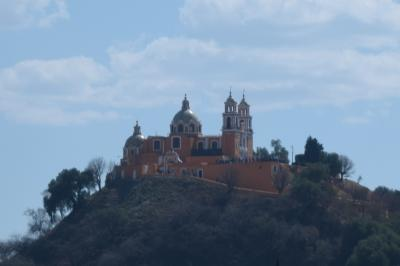 巡るMexico Puebla (Cholula)