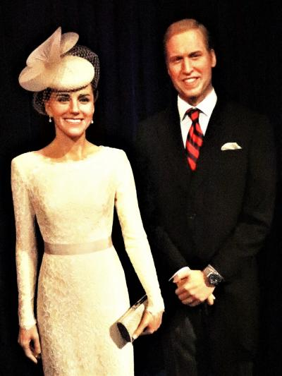 マダム・タッソー東京*1 VIP/リーダー ☆イギリス王室・オバマ大統領・吉田茂首相・・