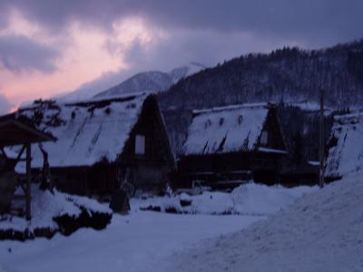 白川郷と五箇山  2007年2月