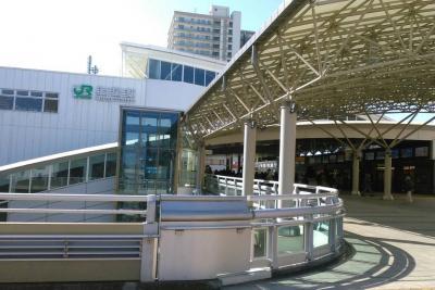 羽田空港到着から、埼玉県上尾の旅