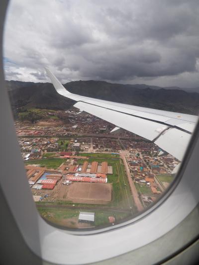 南米旅その2 リマ→クスコ リマ空港でぶらぶら、そして海抜3400mの町へ!