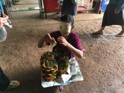 """おじさんぽ・おばさんぽ ~公園での""""アレ""""が禁止されているミャンマーへの旅~ Day5・6・7 実はがっかり?雨季のゴールデンロックはこんなことに!"""
