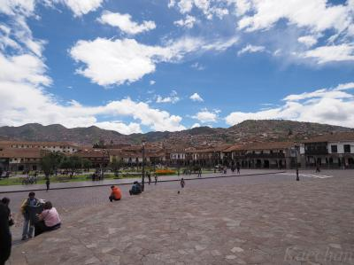 南米旅その3 海抜3400mの街 クスコを散策・・・ただし、ちょっとだけ