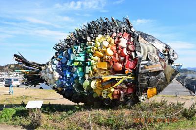 2017年新年早々のアート・歴史遺産旅行 ~1日目-1 瀬戸内海アートの島 直島へ・・・~