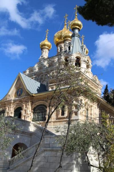 イスラエル聖地を巡る旅 4 オリーブ山