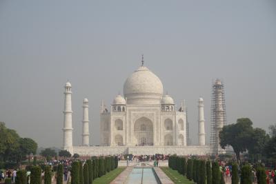 【インド】4日目 アグラで世界遺産2か所巡り&デリーへ4時間かけて230km移動