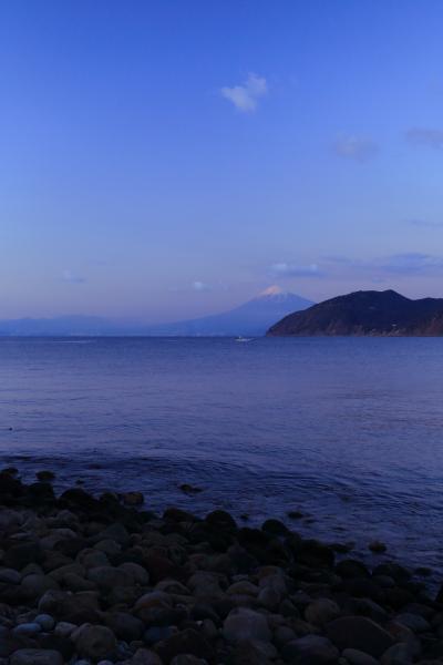 静岡 さった峠、八木沢海岸、日本平からの富士山