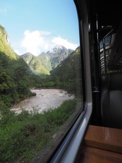南米旅その5 クスコからマチュピチュへ! 列車にゆられてマチュピチュ遺跡へ