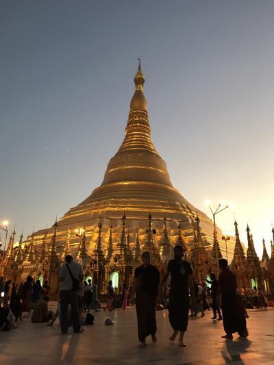 初めてのミャンマー[チャイティヨー、ヤンゴン]