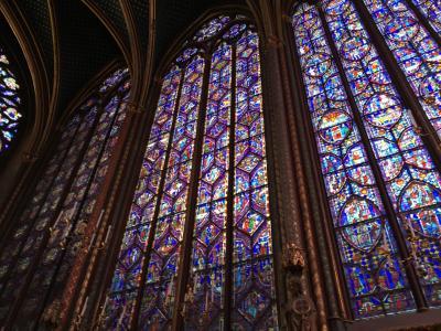 16泊18日ベルギー・オランダ・フランス周遊個人旅行(13)オランジェリー美術館とサントシャペル教会