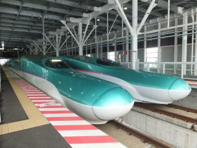 東北・北海道新幹線(H5系)グランクラス & はこだてライナー 乗車記