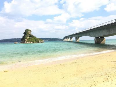 沖縄本島ひとり旅①古宇利島ドライブ&今帰仁城の桜