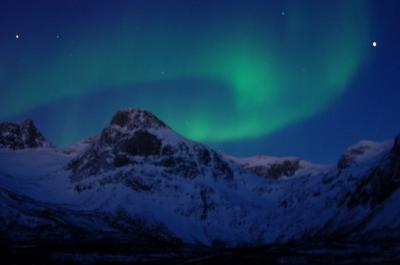ノルウェーでやっと見れたオーロラ トロムソでairbnb民泊