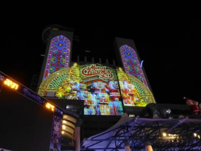 2016 台湾で過ごすクリスマス 4 新北市歡樂耶誕城のイルミネーション