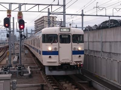 2017気分を変えて415系~熊本電鉄!