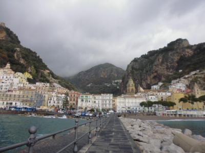 南イタリアのアマルフィ散策