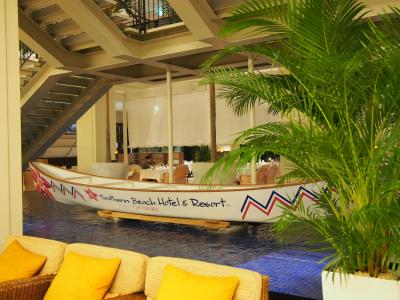 2015 沖縄 1 工業団地の中に突如現れるホテル サザンビーチホテル&リゾート沖縄