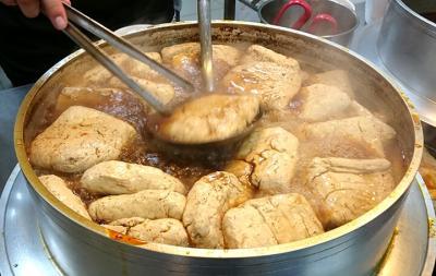 『台北』辛い臭豆腐(チョウドウフ)