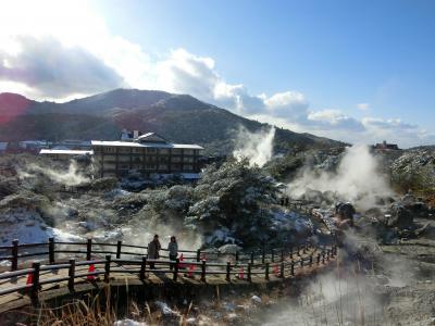 <4>雪が舞い散る九州北部へ、ランタンフェスティバル&美味しもの食べ巡りの旅(雲仙編)