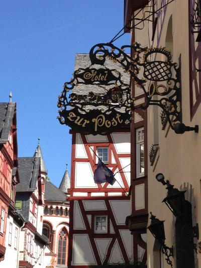 2016GW 初の中部~北ドイツ 【64】バッハラッハその1 オーバー通りを歩く