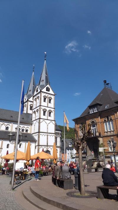 2016GW 初の中部~北ドイツ 【67】ボッパルトその2 旧市街を散策