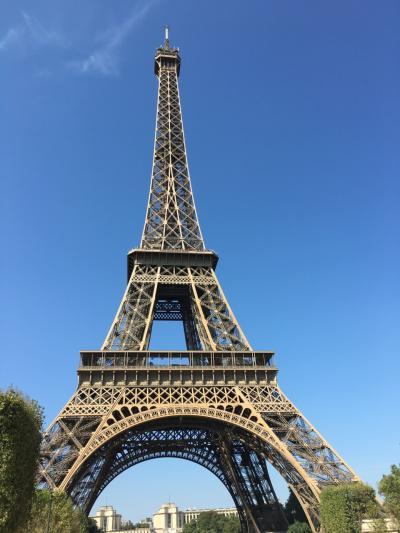 16泊18日ベルギー・オランダ・フランス周遊個人旅行(14)パリの市内観光を一日でおさらい!