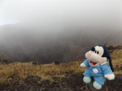 グーちゃん、伊豆大島へ行く!(三原山頂からテキサスアウトローズへ!編)